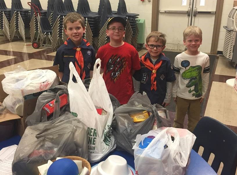 Cub Scout Pack 22 Food Pantry
